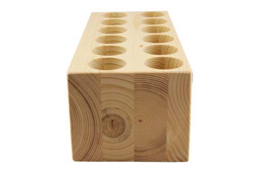 Kabel Organizer aus Fichtenholz